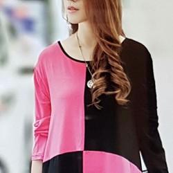 Áo thun nữ thiết kế độc đáo, phong cách.
