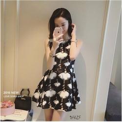 đầm xòe công chúa cực xinh iu - hàng Hàn Quốc