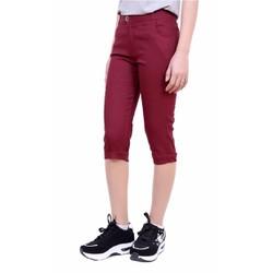 Quần Lửng Nữ Kaki Chun Co Giãn Bó Ống Skinny Jeans QUAN NGO NU 001 DR