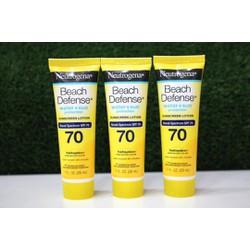 Chống Nắng Neutrogena Beach Defense SPF 70