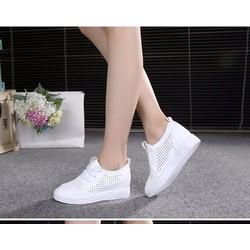 Giày nữ Giầy boots độn gót GBC 13