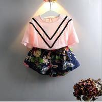 Bộ áo và quần váy bé gái  từ 2 đến 7 tuổi  hàng cao cấp - V607