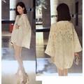 Áo khoác Kimono ren tà ngắn KJ02