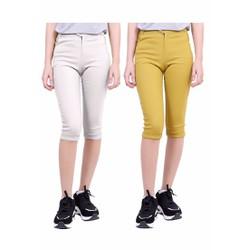 Combo 2 Chiếc Quần Lử ng Nữ Kaki Chun Co Giãn Bó Ống Skinny Jeans 001