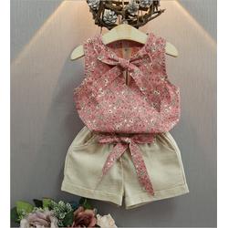 Set áo và quần bé gái từ 1 đến 5 tuổi hàng cao cấp - V618