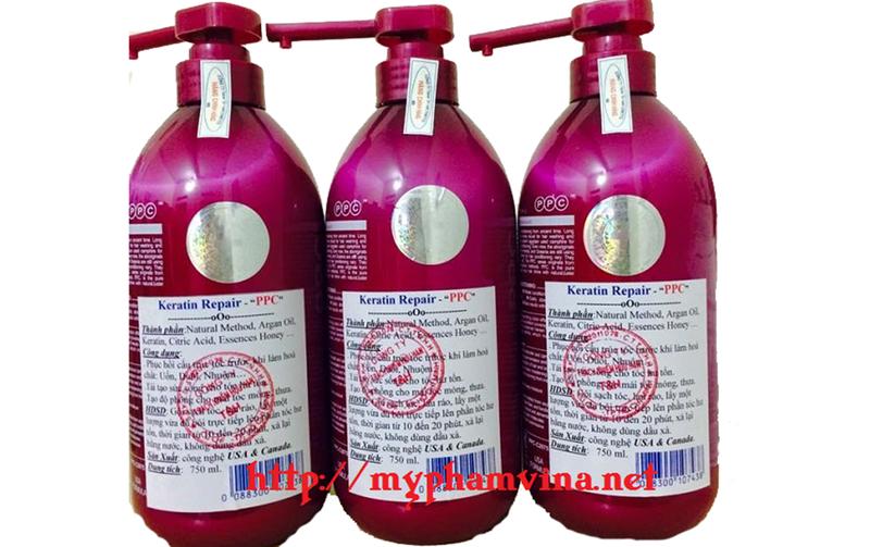 Kem ủ tóc, phục hồi hư tổn PPC USA 3