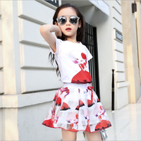 Bộ áo và váy bé gái từ 4 đến 12 tuổi hàng cao cấp - V601