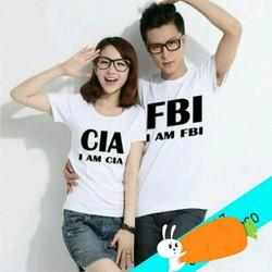 Bộ đôi áo tình nhân CIA FBI