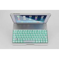 Bàn phím iPad Air 2 kiêm ốp like Macbook 7 màu đèn cao cấp