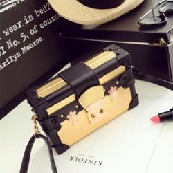 Túi xách hộp thời trang cao cấp phong cách châu âu