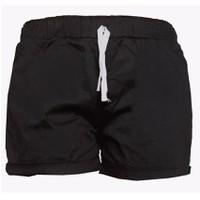 Quần Short Shorts Sooc Đùi Kaki Nữ Thun Co Giãn