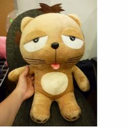 Mèo DINGA  nhồi bông size 45cm , thú bông gấu bông Việt Nam