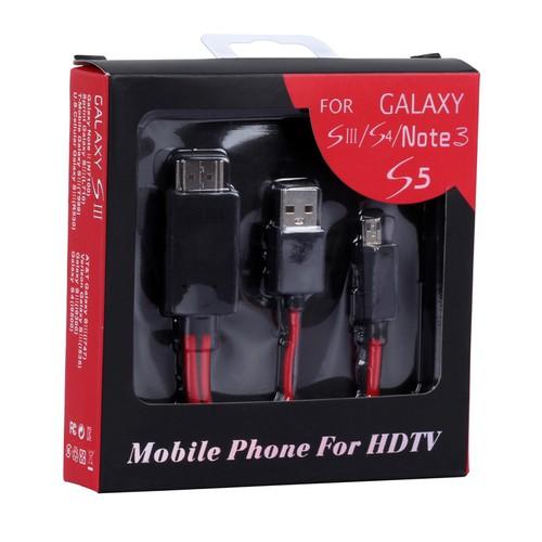 Cáp HDMI xuất hình ảnh từ Điện thoại sang TV