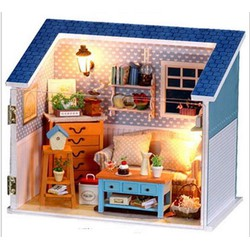 Bộ đồ chơi mô hình lắp ráp phòng khách W008