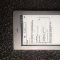 Máy đọc sách Kindle touch