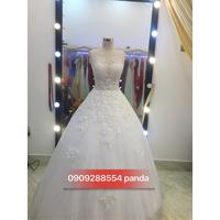 áo cưới trắng phale sang trọng ...