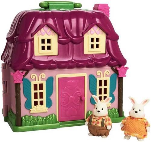 Li'l Woodzeez giá rẻ mô hình Ngôi nhà Thỏ trắng