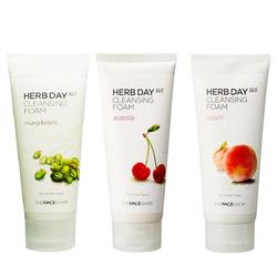 Sữa rửa mặt TheFaceShop Herb Day 365