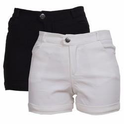 Combo 2 Chiếc Quần Short Shorts Sooc Đùi Kaki Nữ Co Giãn Chất Đẹp
