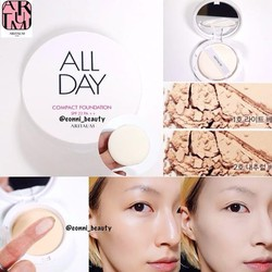 PHẤN NỀN ARITAUM ALL DAY COMPACT FOUNDATION SPF27 PA++