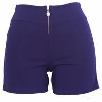 Quần Short Shorts Sooc Đùi Vải Zip Nữ Co Giãn Chất Đẹp 017C N