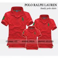 Áo thun gia đình polo Raplauren