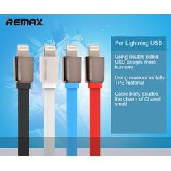 Cáp sạc Lightning FLAT REMAX