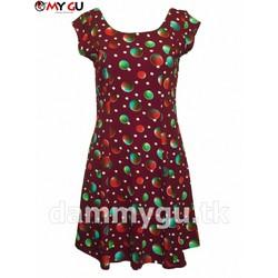 Đầm xòe trẻ trung, xinh xắn MY GU D101 - Họa tiết 1