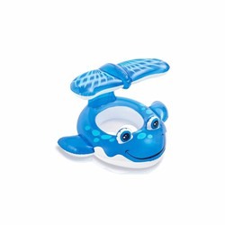 Phao bơi xỏ chân cá voi xanh intex 56593