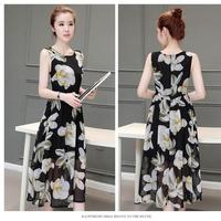 Đầm Voan Hoa Ly Ly