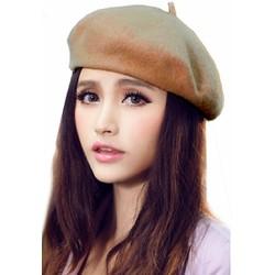 Mũ Nồi Nón Nữ Nấm Dạ Nỉ Bere Beret Thời Trang Hàn Quốc Chất Xịn 031 CA