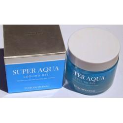 Gel lạnh cung cấp ẩm và thu nhỏ các lỗ trên mặt Super Aqua Cooling Gel