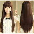 Tóc dài nâu vàng trẻ trung xinh đẹp tóc nhìn vào như thật tự nhiên-100