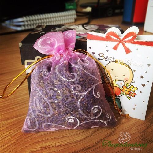 Hộp quà tặng túi thơm nụ hoa oải hương