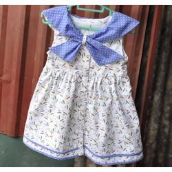 Váy thủy thủ cho bé