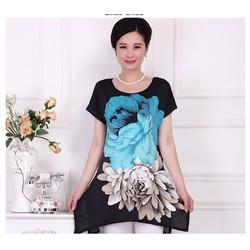 AM8 - HÀNG NHẬP ĐÀI LOAN - Áo Polyester in hoa 3D - Size L~4XL