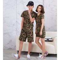 áo thun nữ rằn ri military Mã: AX2862