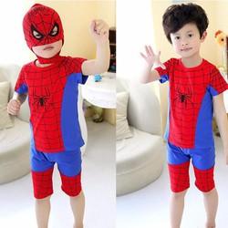 Bộ siêu nhân nhện TẶNG mặt nạ cho bé trai năng động