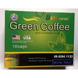Cafe giảm cân Green Coffee chính hãng từ Mỹ