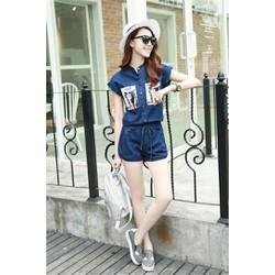 Sét Đồ Bộ Jeans Đùi Xinh