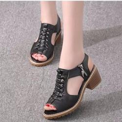SD02D - Giày sandal nữ Phong Cách Hàn Quốc