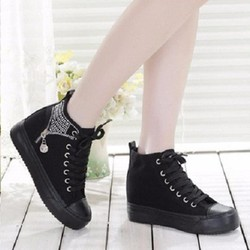 B01D - Giày bốt thể thao phong cách Hàn Quốc