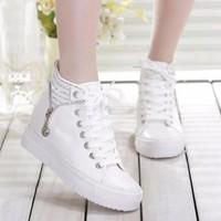 B01T - Giày bốt thể thao phong cách Hàn Quốc