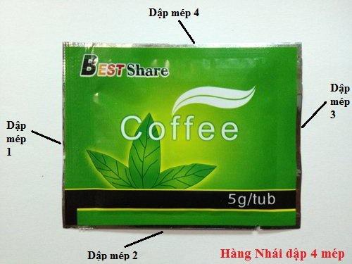 tui dung ca phe giam can green coffee gia
