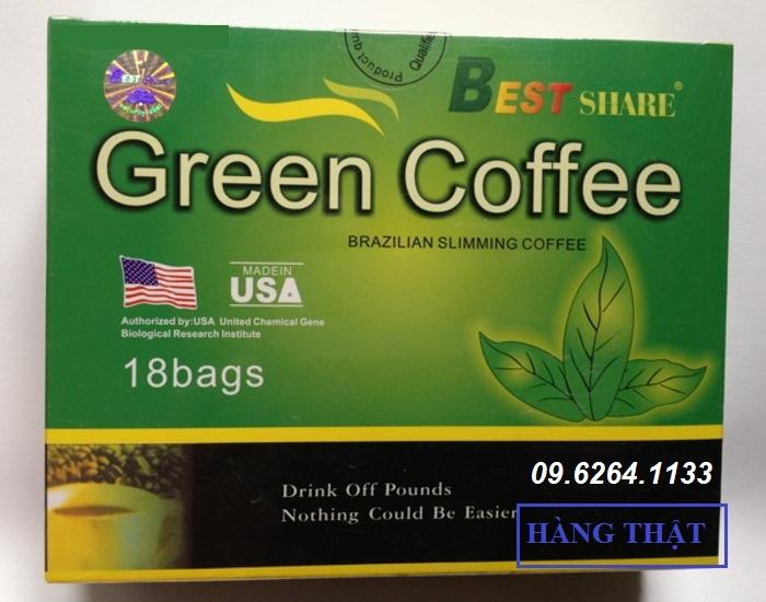 Cafe giảm cân của mỹ green coffe 13