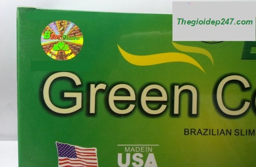 Cafe giảm cân của mỹ green coffe 4