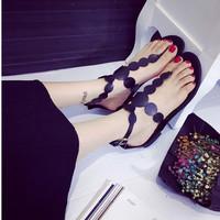 Giày sandals xỏ ngón đồng tiền SDXN07