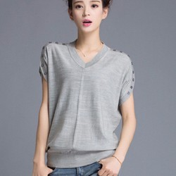 HÀNG NHẬP - Áo len dệt kim thời trang - AL007.1