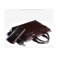 Túi xách thời trang nam da thật cao cấp Santa Goff - GS1