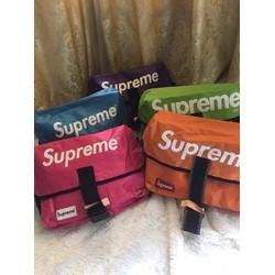 Túi đeo chéo Supreme NAM NỮ  loại dày sài bền